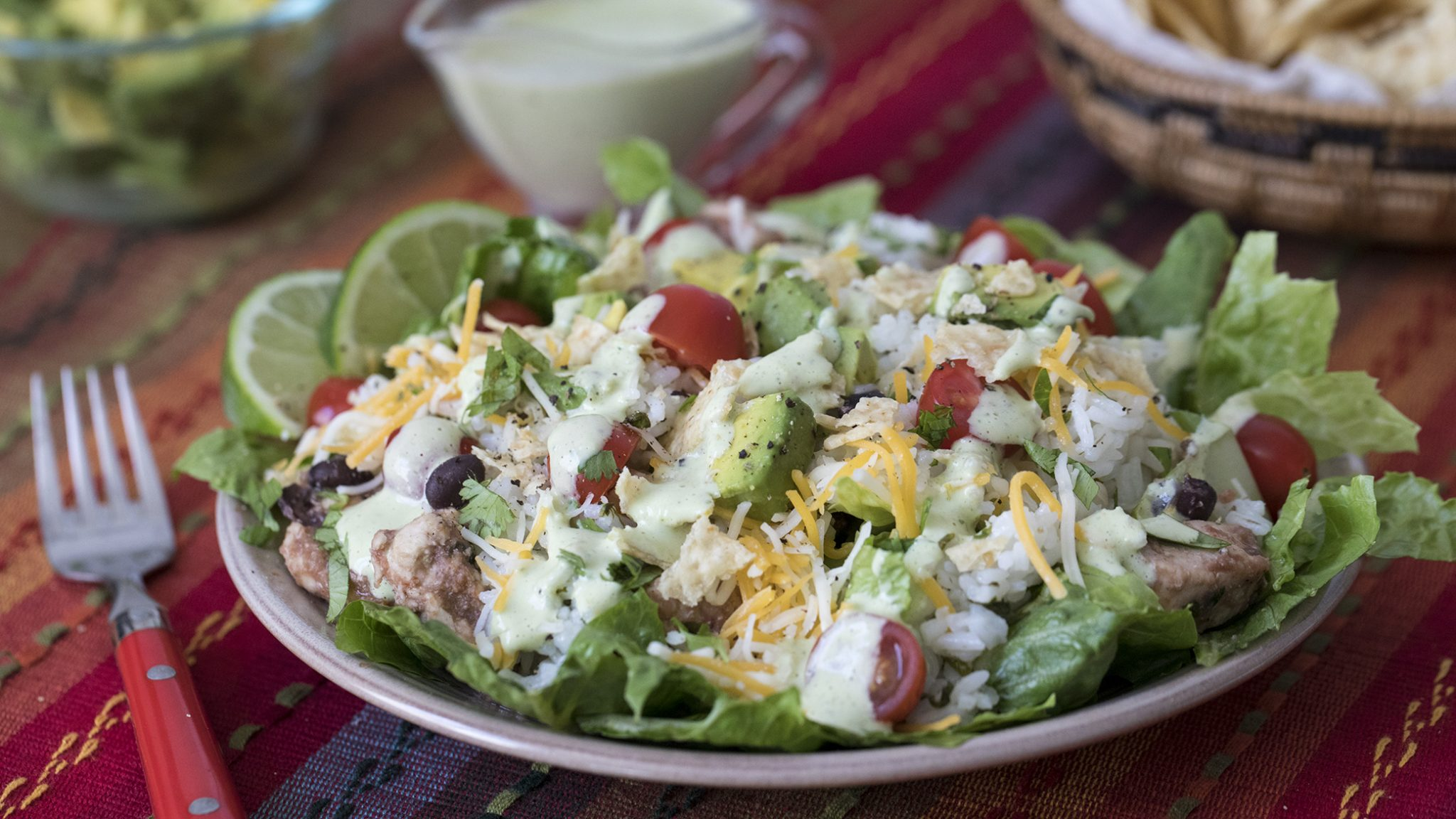 Cilantro Lime Chicken Taco Salad Recipes Instantpot Com