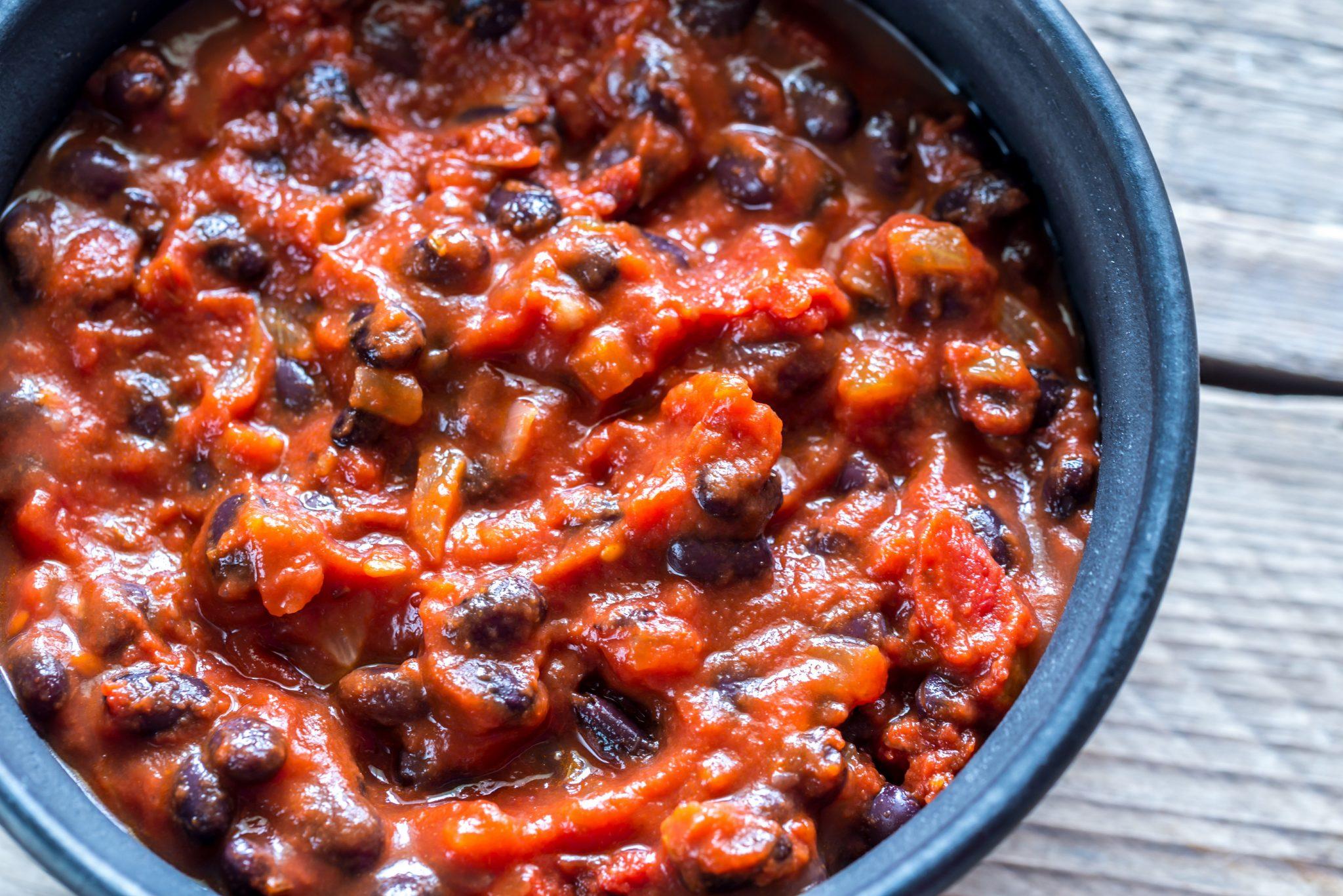 Black Bean Mushroom Chili Instant Pot Recipes