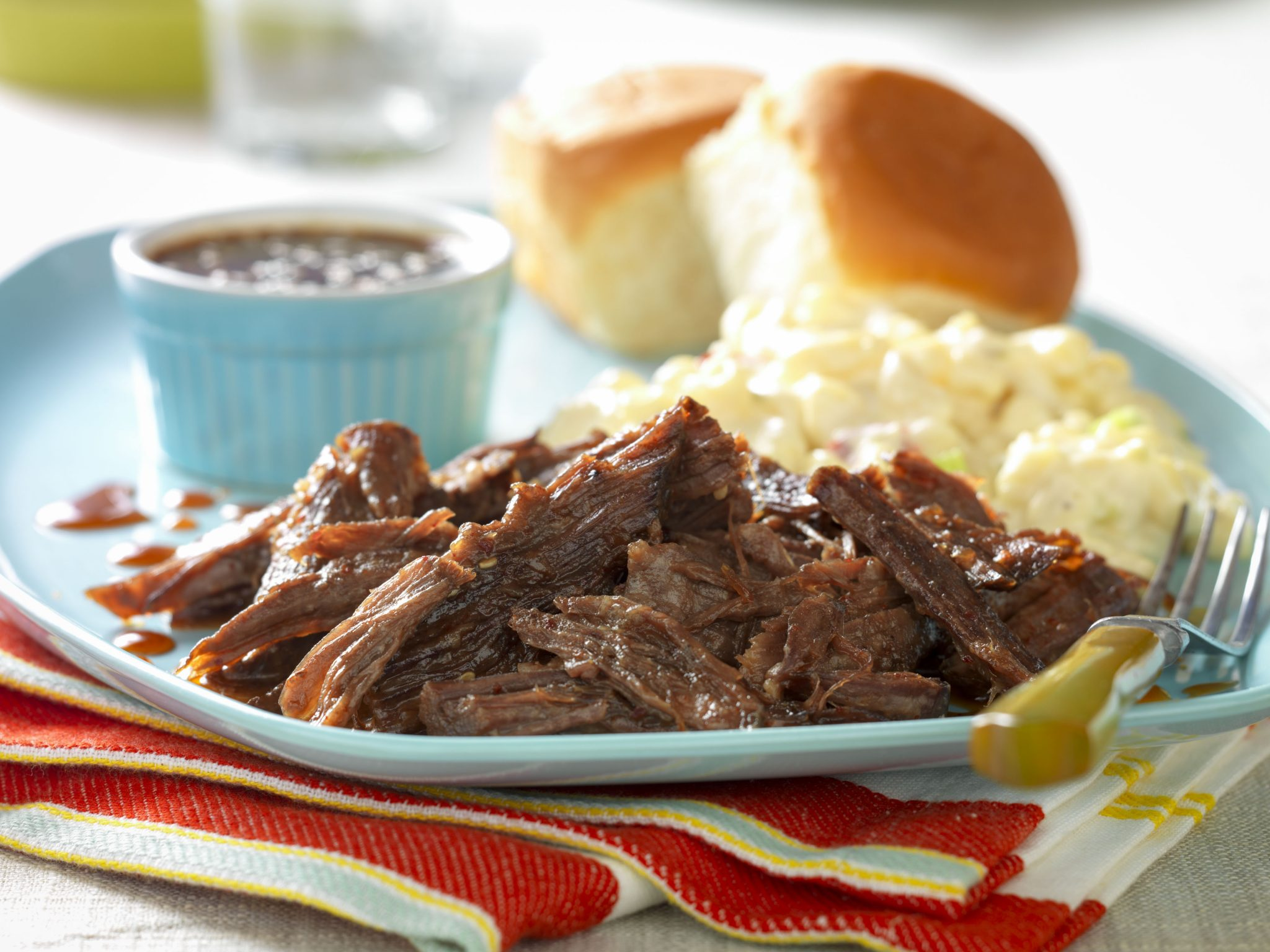 Slow Cooked Whiskey Molasses Shredded Beef Recipes