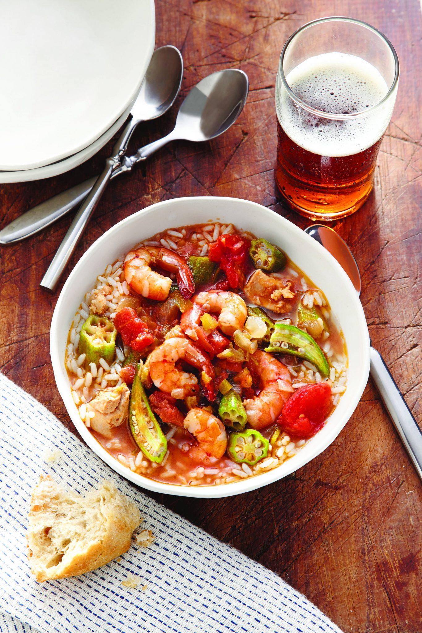 Chicken Shrimp And Vegetable Gumbo Recipes Instantpot Com