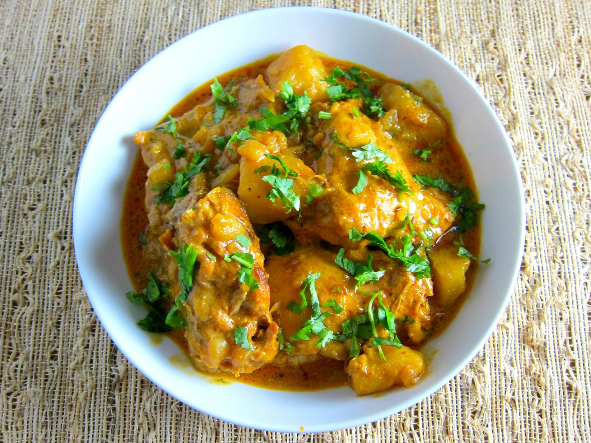 Indian chicken curry recipesstantpot print recipe forumfinder Images