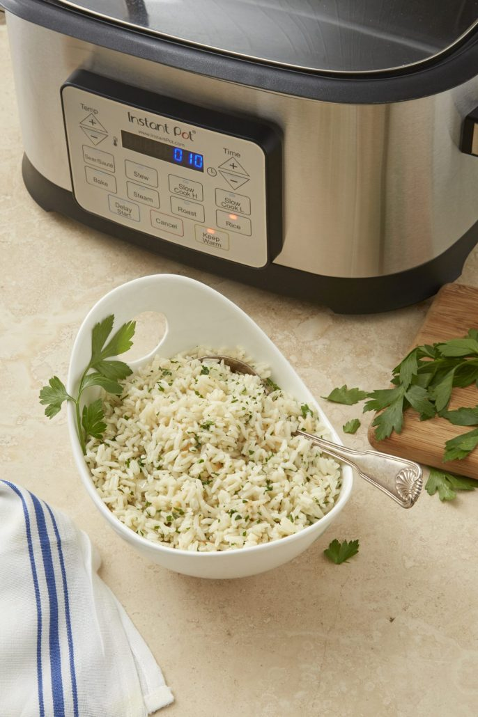 Multicooker Herbed Rice Pilaf Instant Pot Recipes