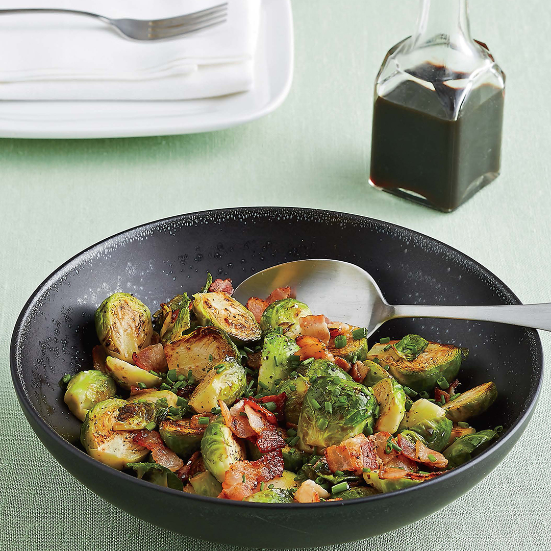 Brussels Sprouts With Bacon Balsamic Recipesstantpot