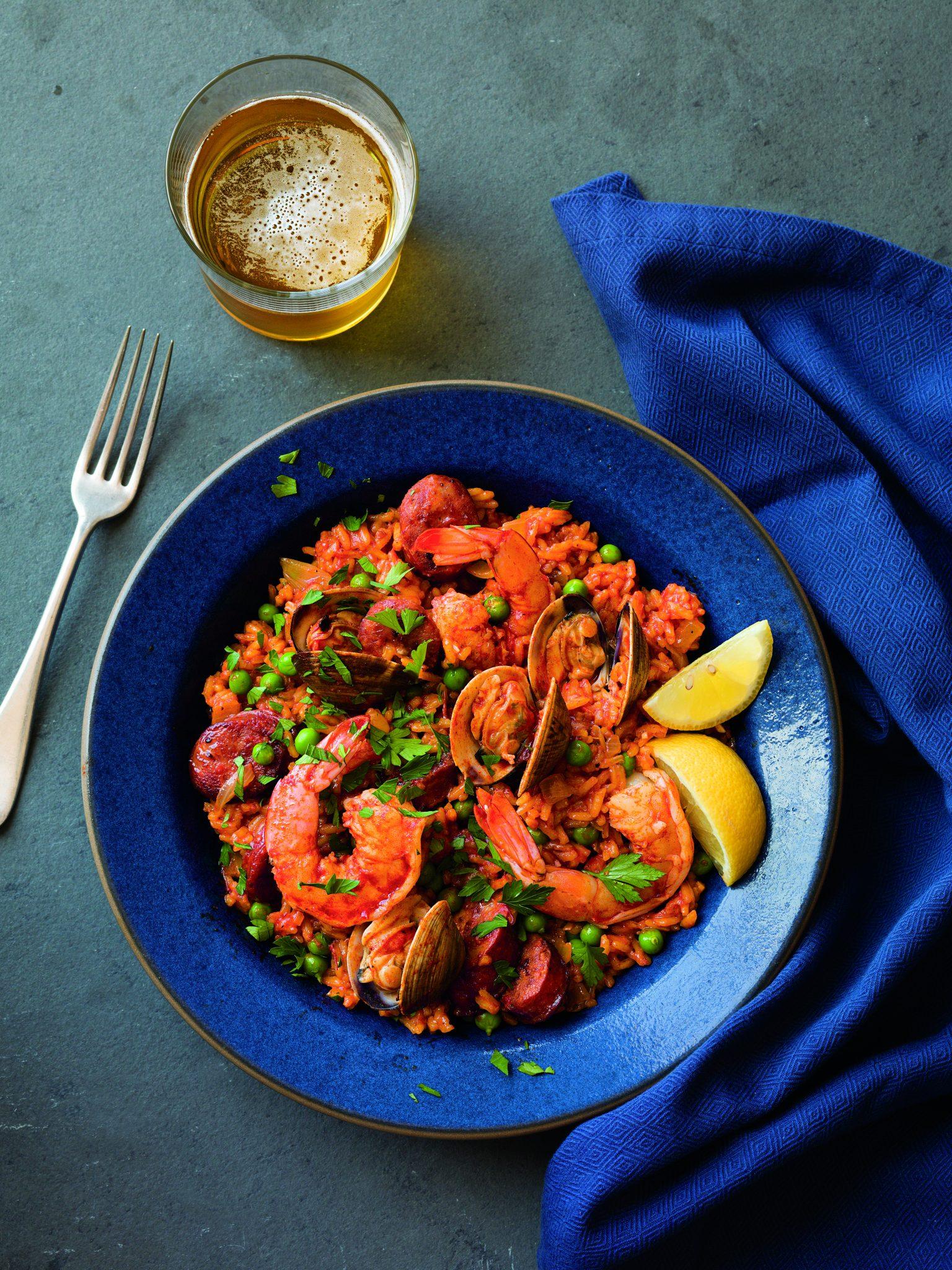 Chorizo seafood paella recipes for Instant pot fish recipes