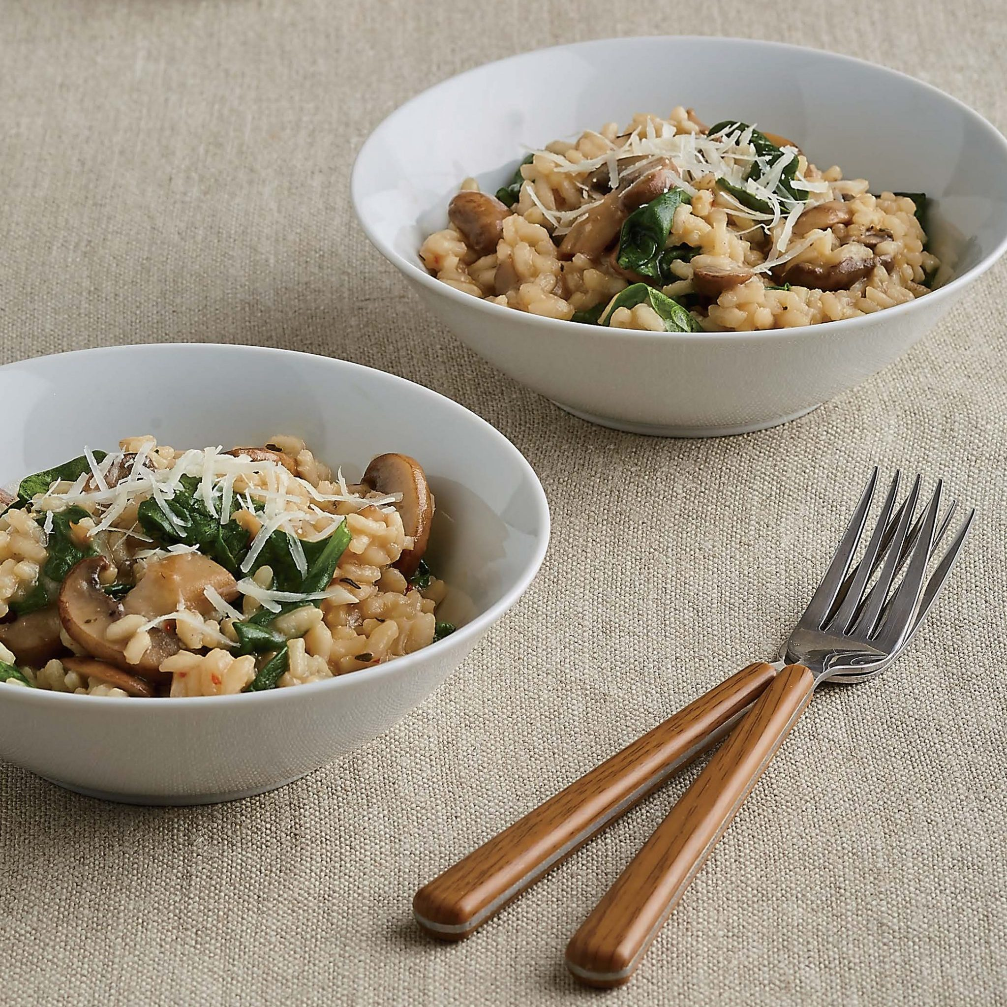 Mushroom and spinach risotto recipes for Instant pot fish recipes