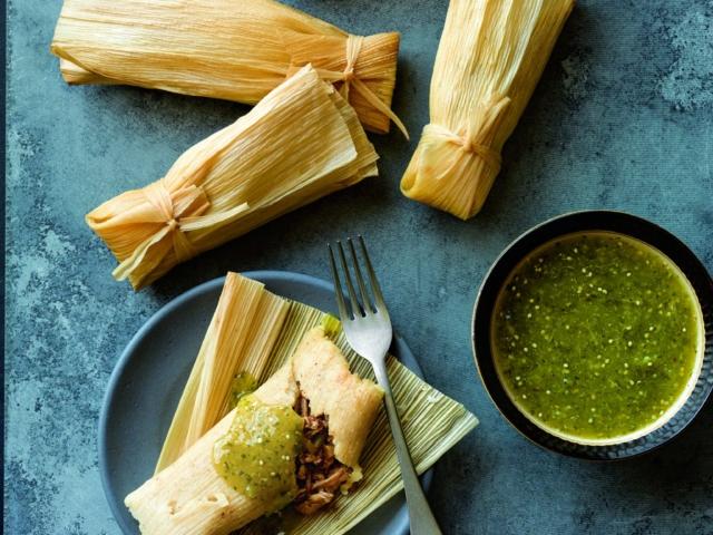 Pork Green Chile Tamales Instant Pot Recipes
