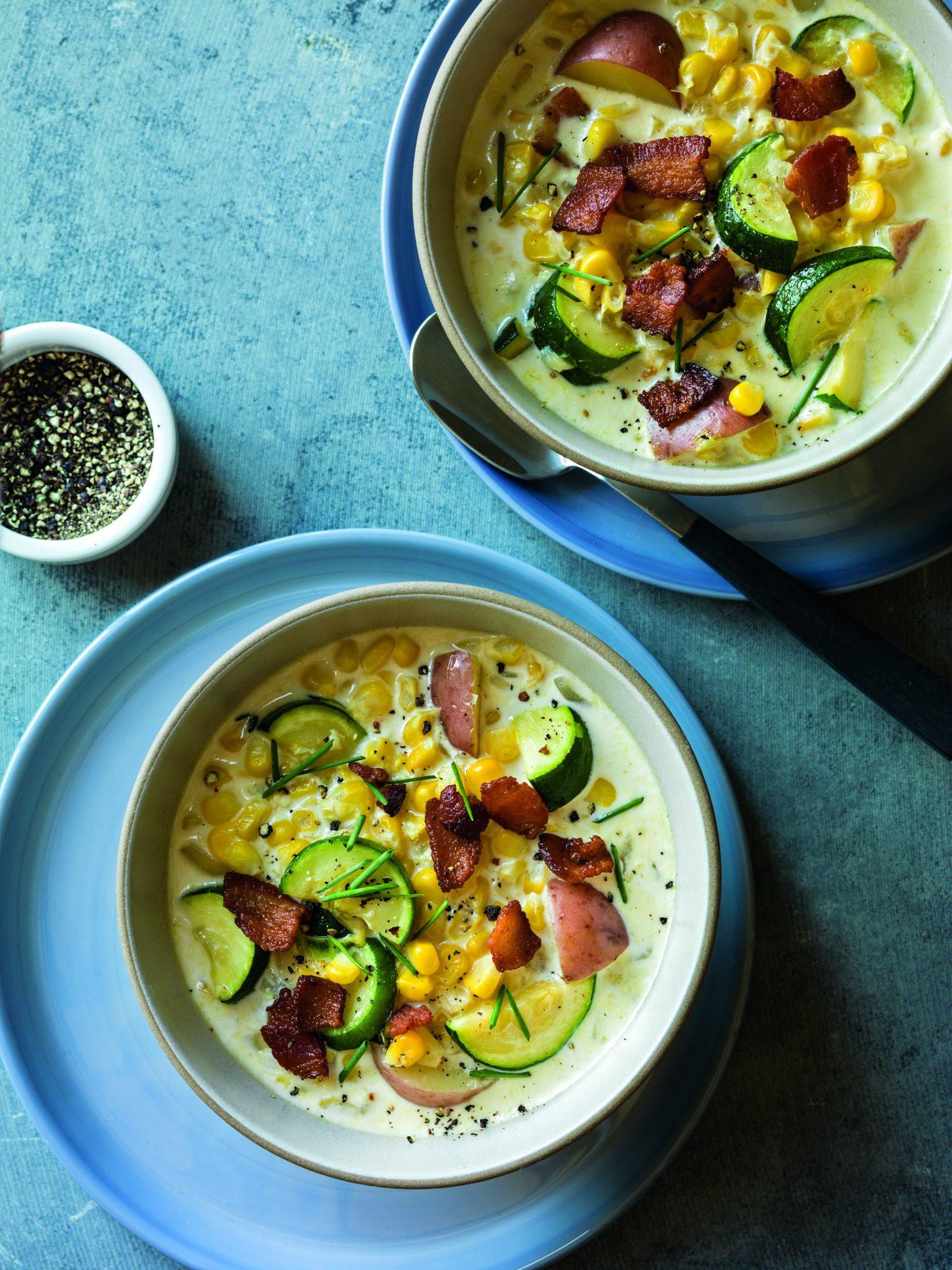 Summer Corn & Zucchini Chowder – Recipes.InstantPot.com