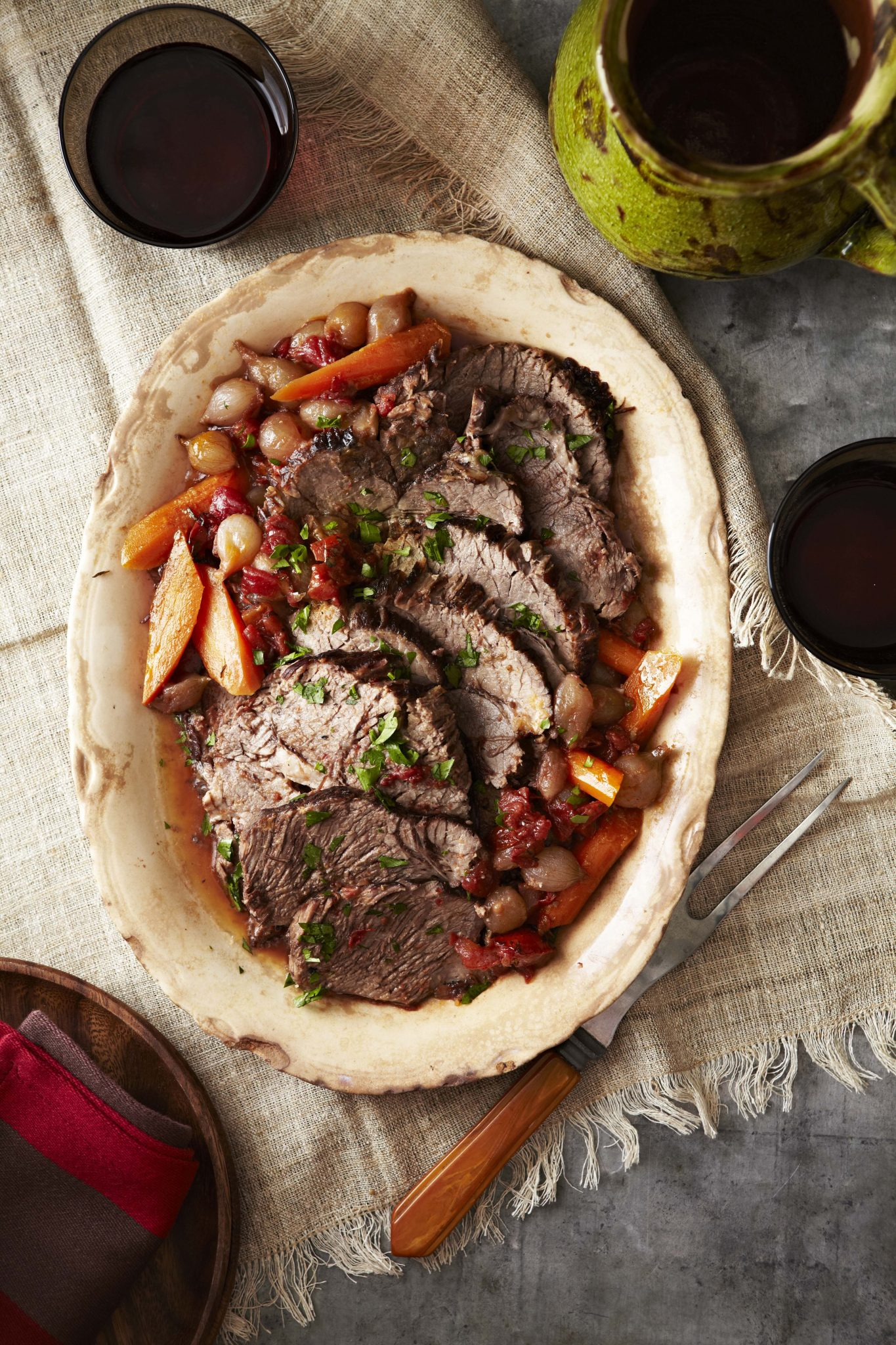 Pot roast with red wine sauce recipesstantpot forumfinder Image collections