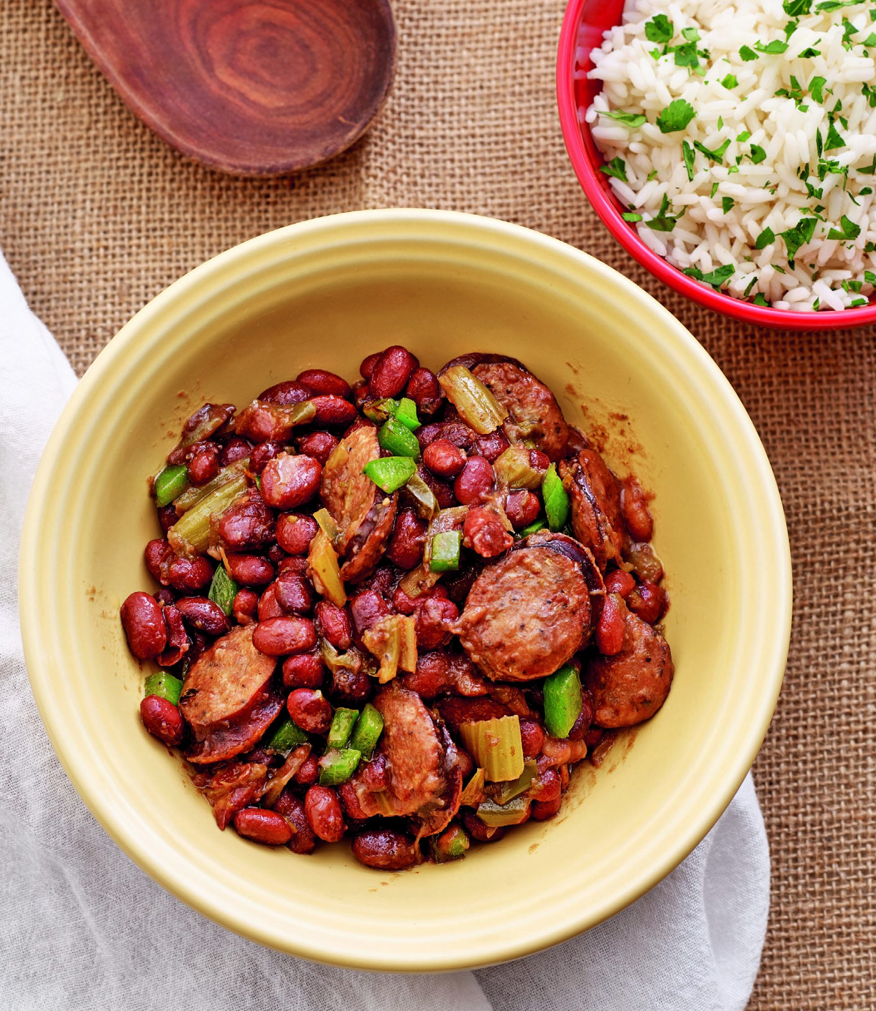 Mini Red Beans Rice With Andouille Sausage Instant Pot Recipes
