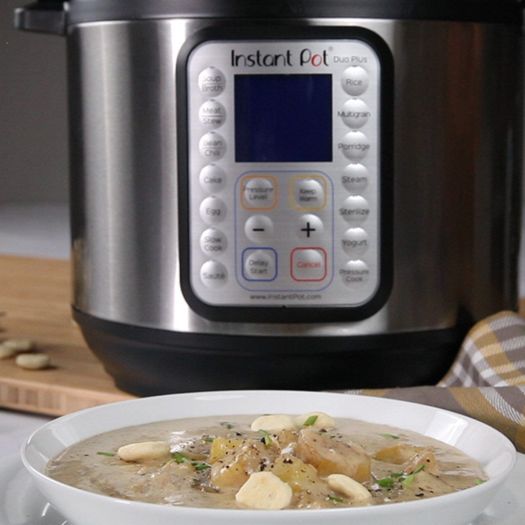 instant pot clam chowder