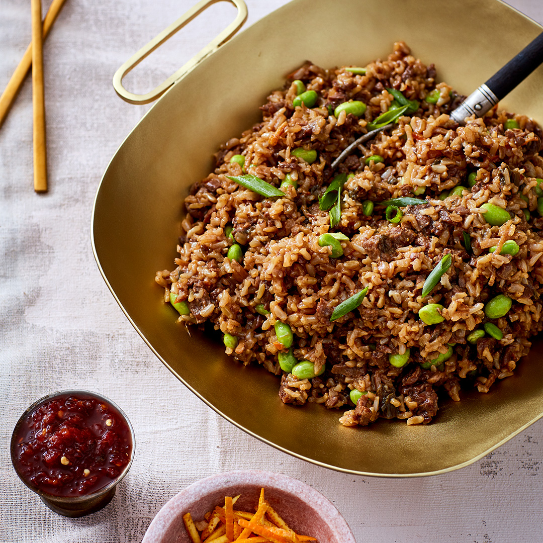 Orange Beef Fried Rice Casserole Instant Pot Recipes