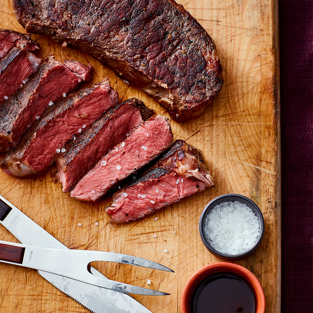 Sous Vide Strip Steaks With Chives And Garlic Instant Pot Recipes