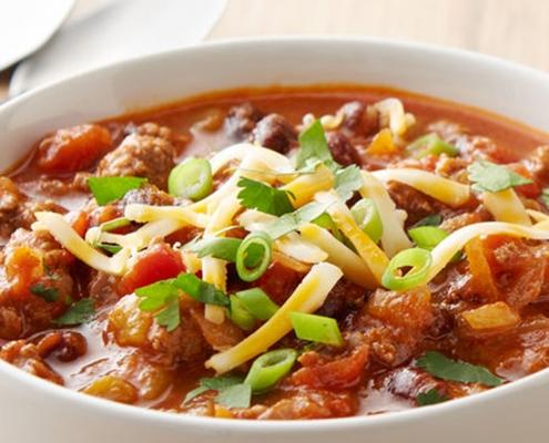 instant pot recipe, instant pot chili recipe, instant pot beef and black bean chili recipe