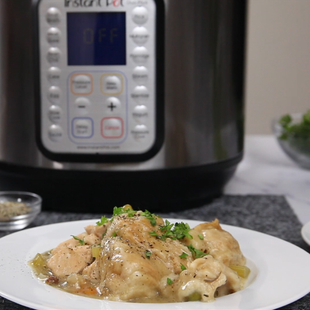 Chicken And Dumplings Instant Pot Recipe