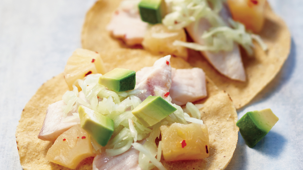 Fish And Pineapple Tostadas Instant Pot Recipes