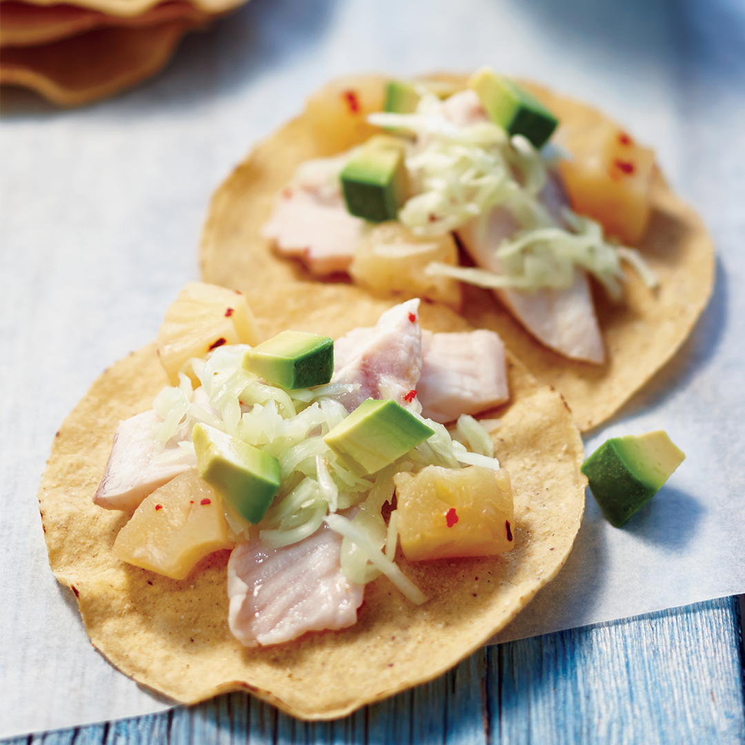fish tostadas