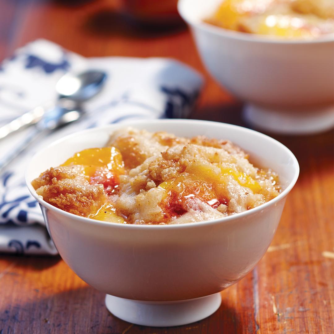 Lip-Smacking Peach Cobbler - Instant Pot Recipes