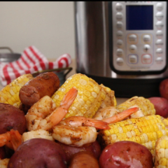shrimp and corn