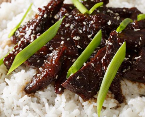 instant pot Mongolian beef recipe