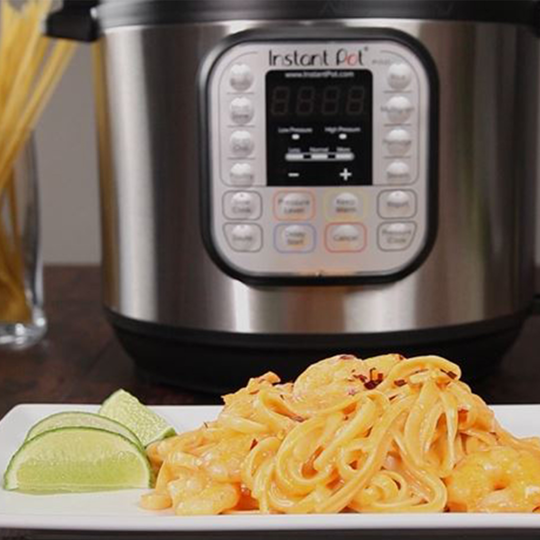 shrimp pasta, instant pot star wars, instant pot recipes, instant pot shrimp recipes, instant pot shrimp pasta