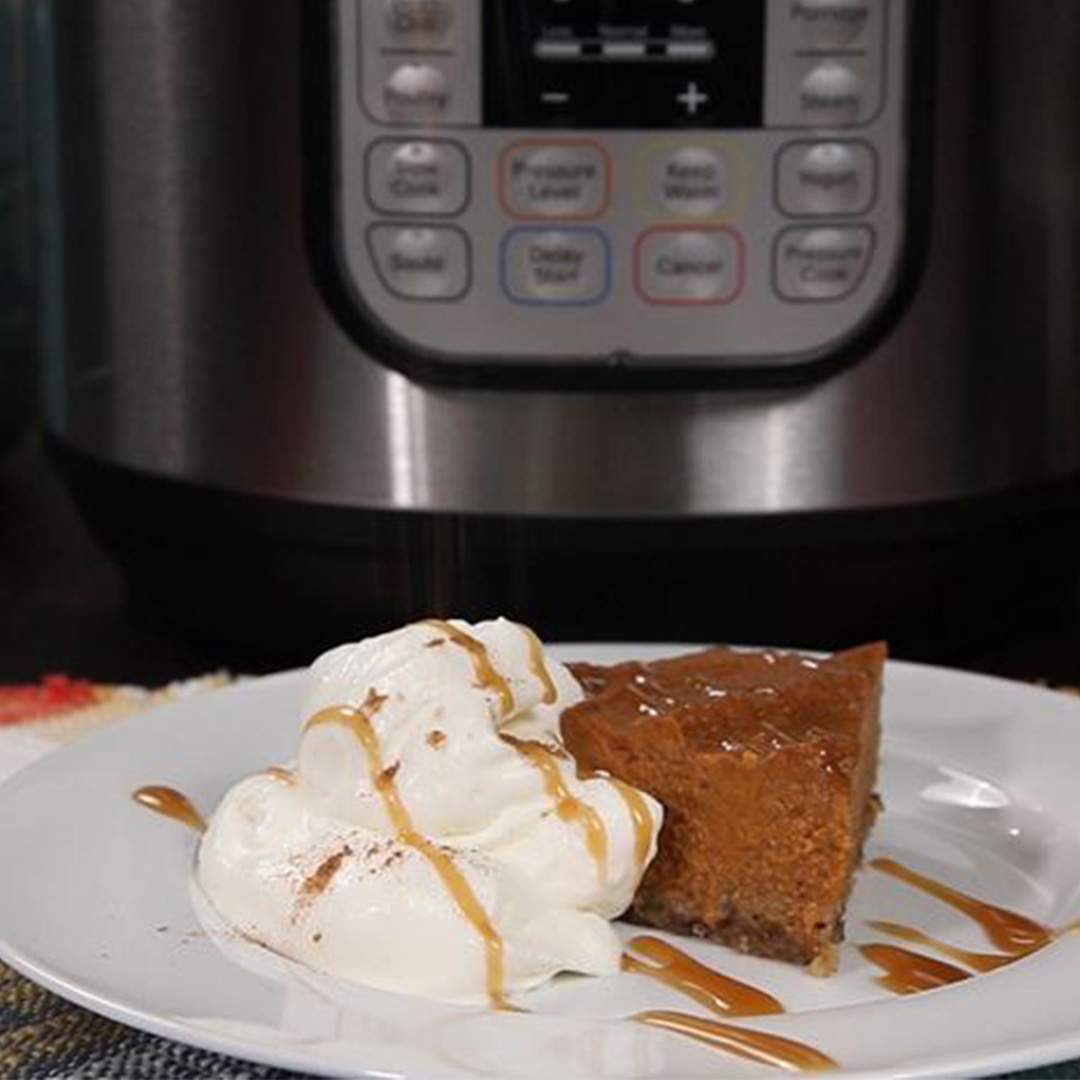 instant pot pumpkin pie