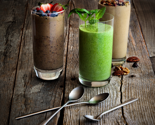 Coconut-Milk-Berry-Smoothie