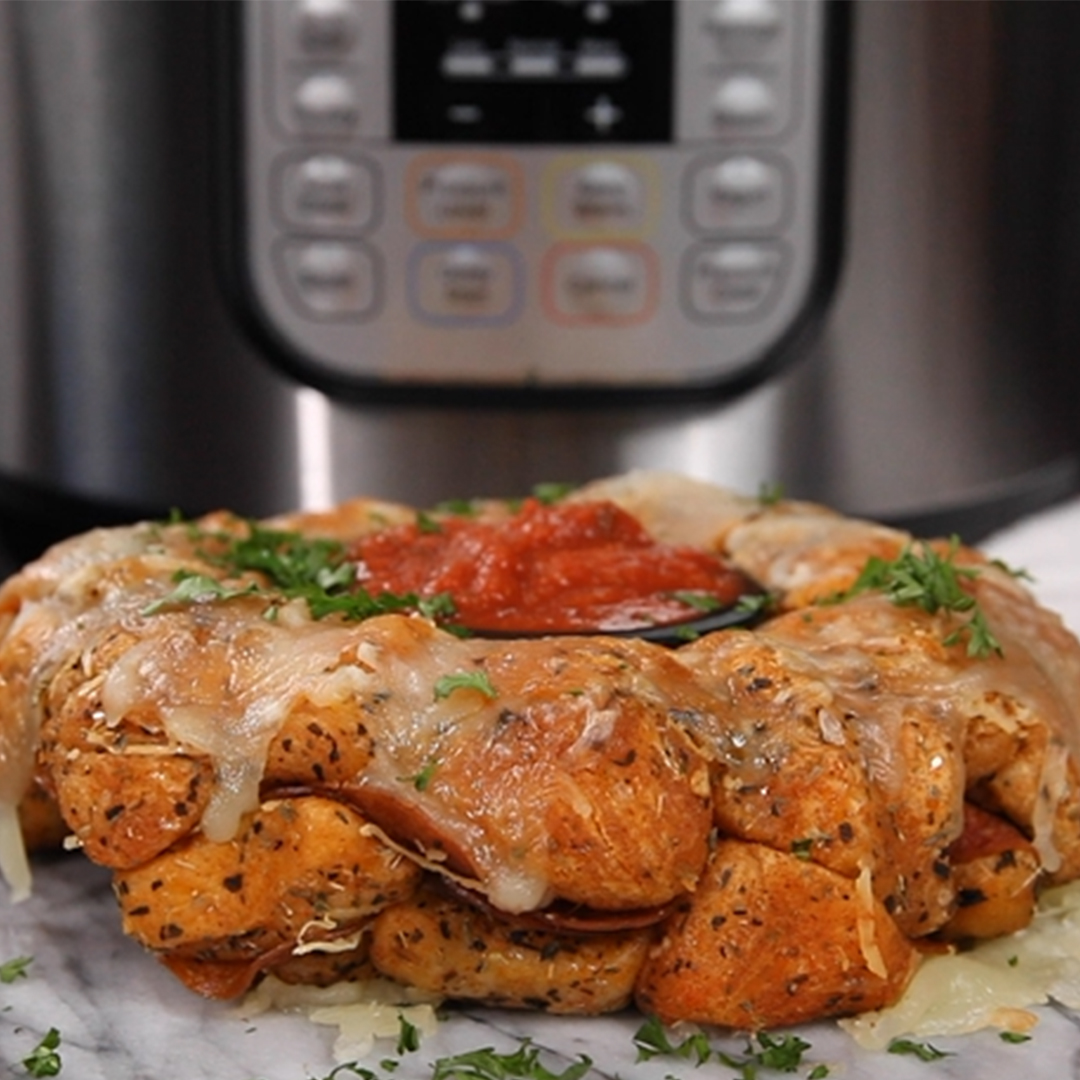 Pull Apart Pizza Bread Instant Pot Recipes