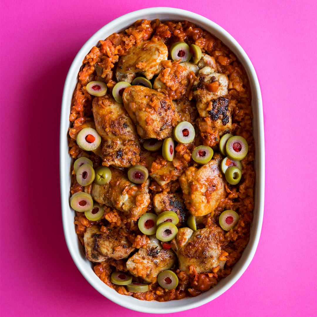Arroz Con Polla recipe picture