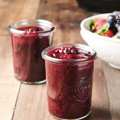 Berry Compote. instant pot dessert recipe, instant pot recipe, instant pot berry compote recipe