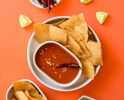 Classic Tomatillo and Arbol Chile Salsa