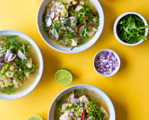 Green Chicken Pozole