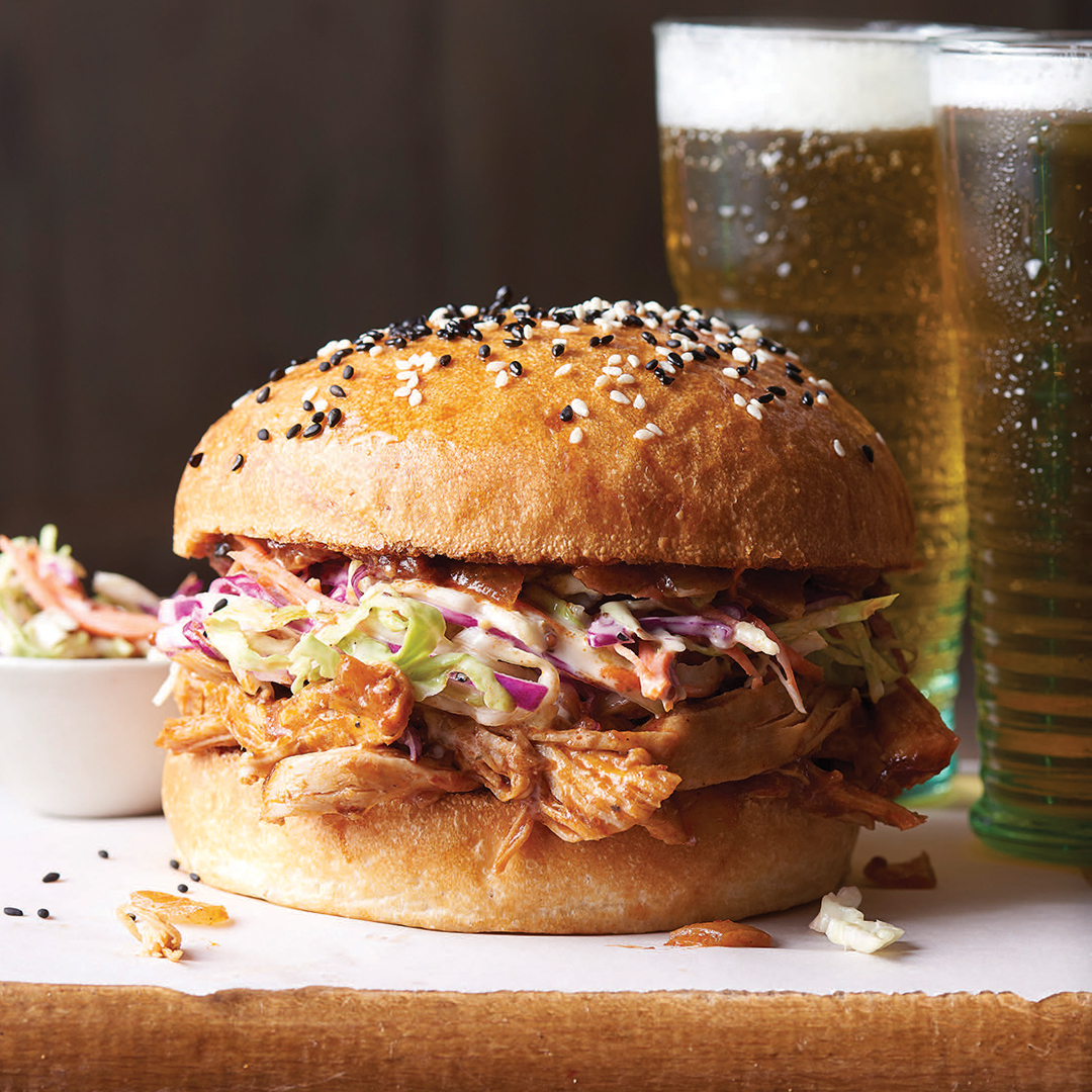 bbq chicken sandwich picture