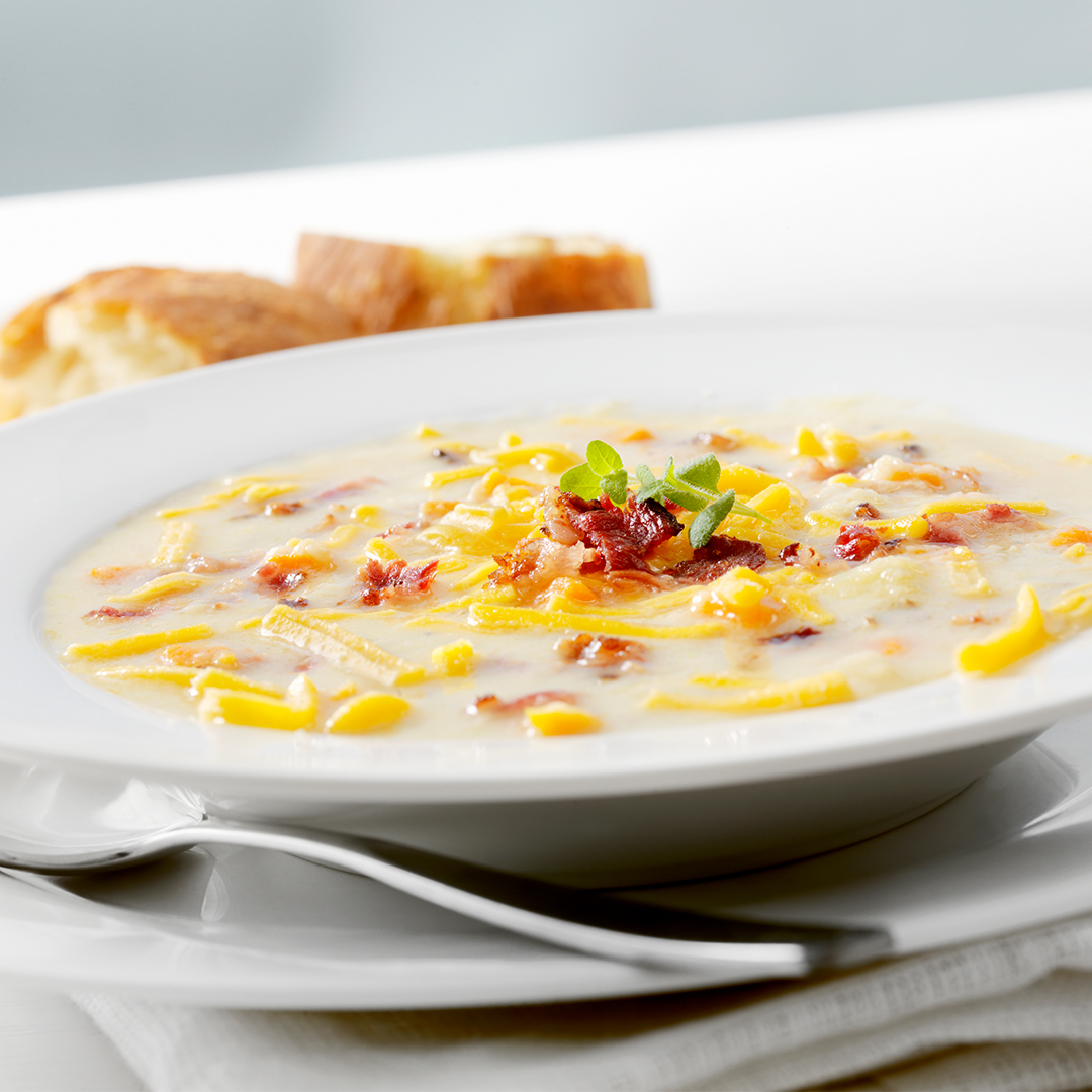 Instant Pot Bacon Corn Chowder Recipe