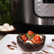 instant pot recipe, instant pot mushrooms, instant pot, instant pot portobellos