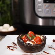 instant pot recipe, instant pot mushrooms, instant pot, instant pot portobellos