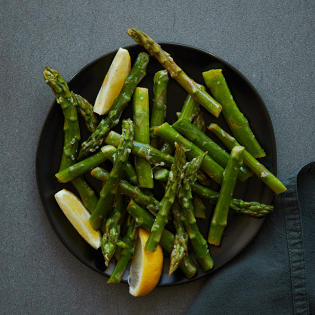 Lemon Ginger Asparagus