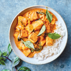 Massaman Curry with Tofu and Kabocha Squash