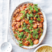 White Bean and Carrot Tagine