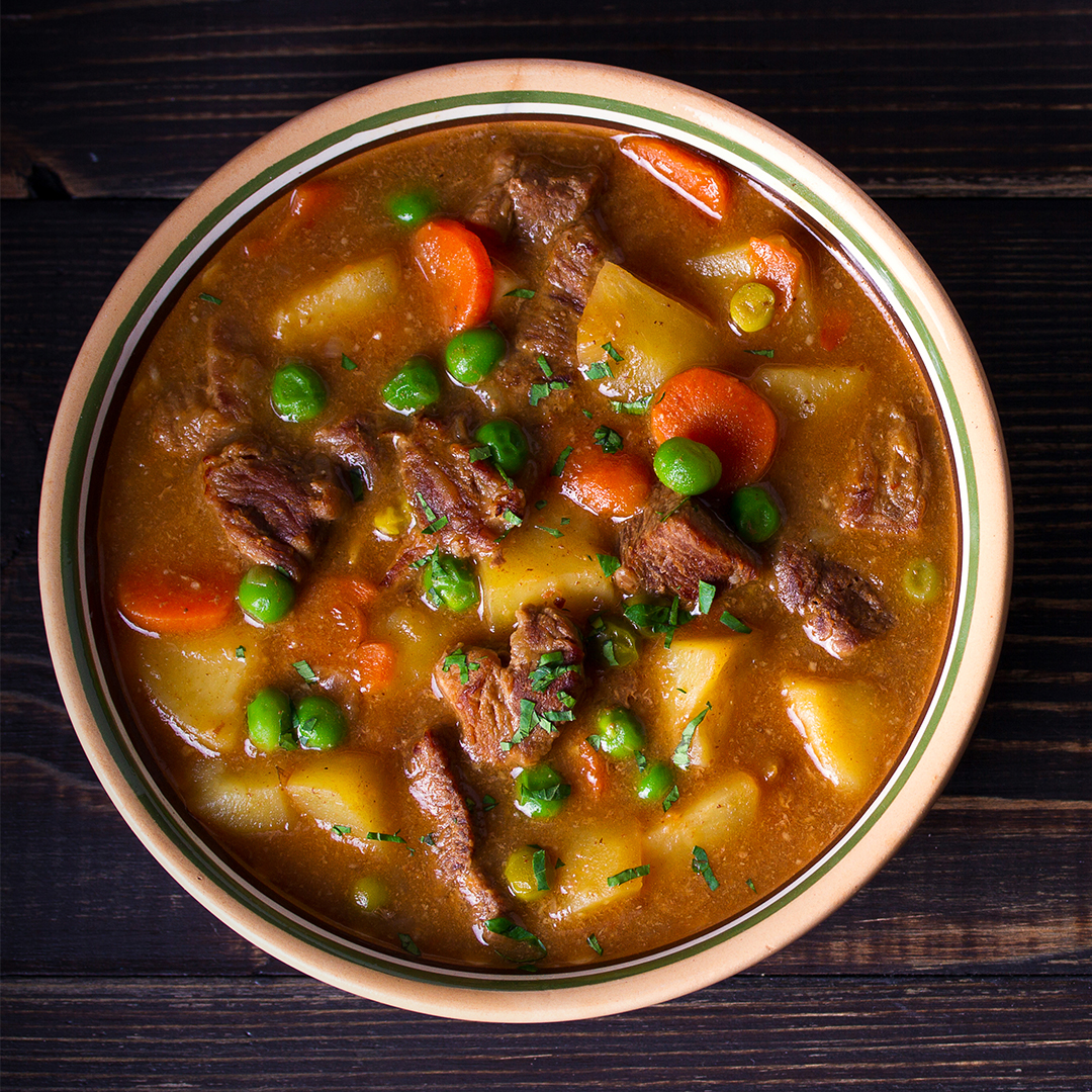 Lazy Day Beef Stew (Fresh Or Frozen Beef)