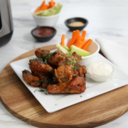 air fryer wings recipe