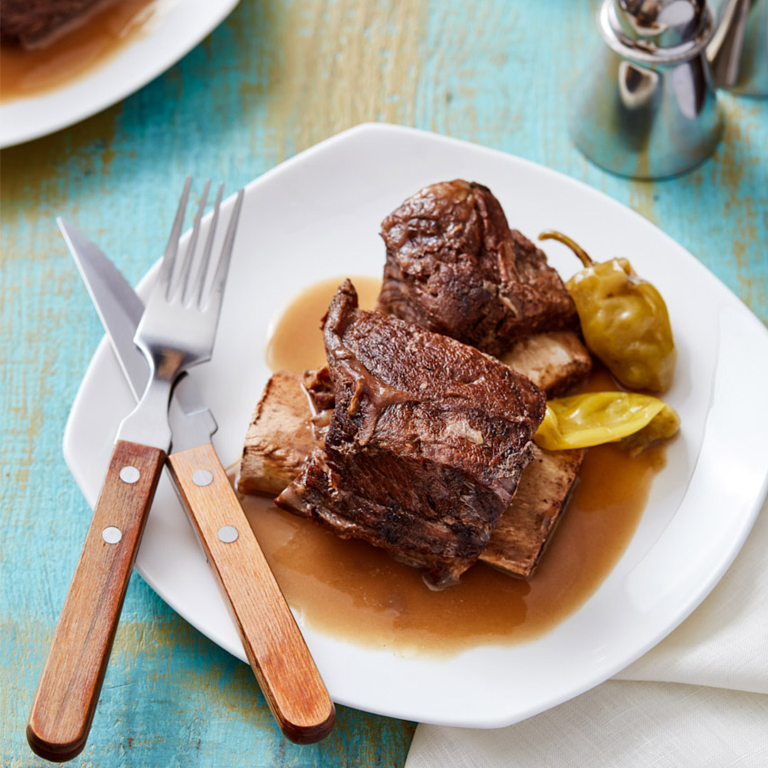 Mississippi-Style Short Ribs - Instant Pot Recipes