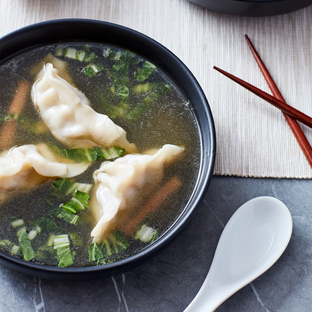 Chinese Dumpling Soup - Instant Pot Recipes