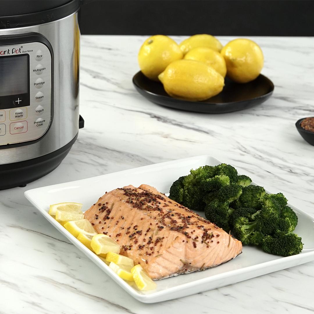 instant pot, instant pot recipes, instant pot salmon, instant pot fish recipes