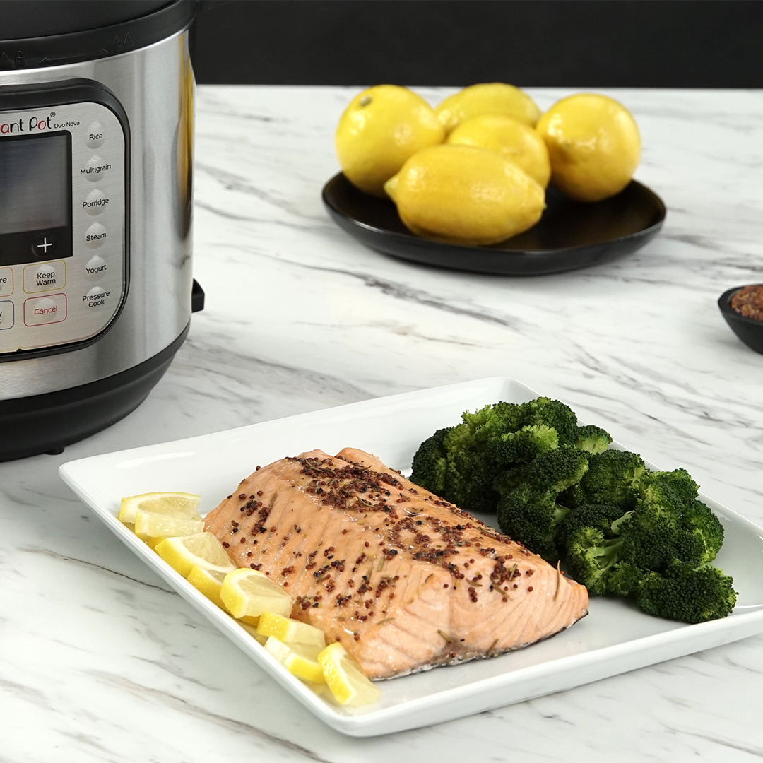 instant pot, instant pot recipes, instant pot salmon, instant pot fish recipes