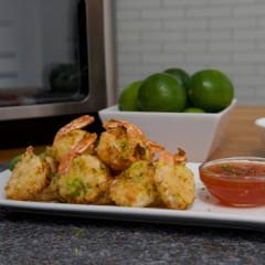 air fryer recipe, instant vortex plus, air fryer shrimp recipe
