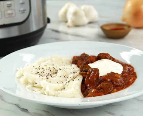 instant pot recipe, instant pot Hungarian goulash, instant pot goulash recipe, Hungarian goulash recipe