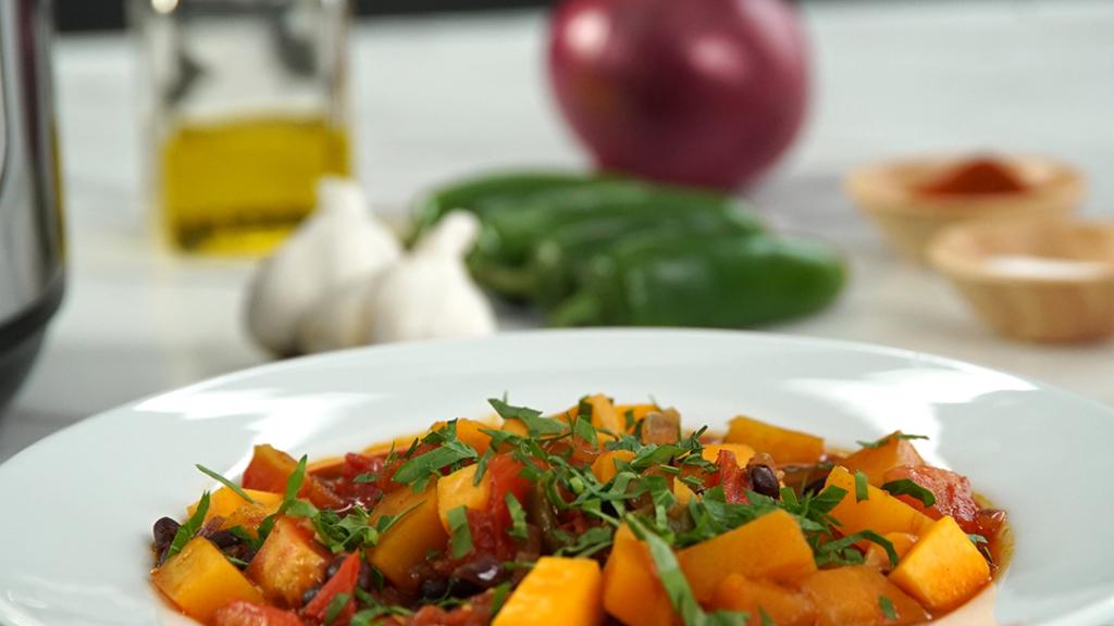 Vegetarian Butternut Squash Chili Instant Pot Recipes
