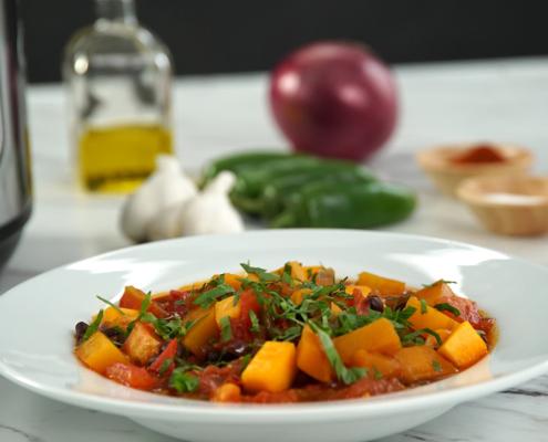 instant pot recipe, instant pot vegan recipes, instant pot squash recipes, vegan chili recipe, instant pot vegan recipes