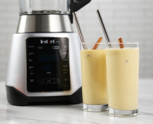 Ace plus smoothie recipe, Instant Ace Plus, Peach Cobbler Smoothie, Instant Pot,, instant ace plus blender, Ace plus recipes, instant pot blender recipes, instant pot, blender recipes