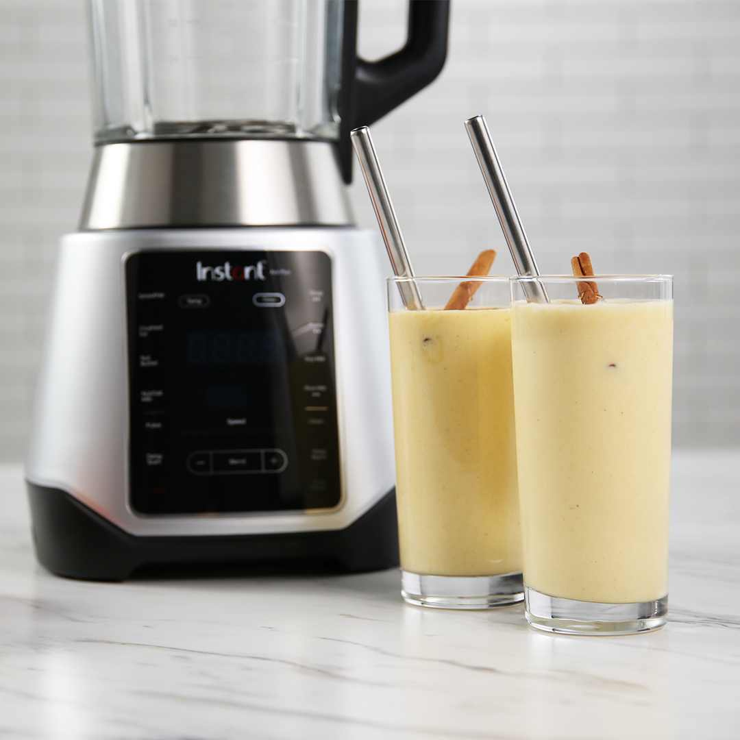 Ace plus smoothie recipe, Instant Ace Plus, Peach Cobbler Smoothie, Instant Pot,, instant ace plus blender, Ace plus recipes, instant pot blender recipes, instant pot, blender recipes